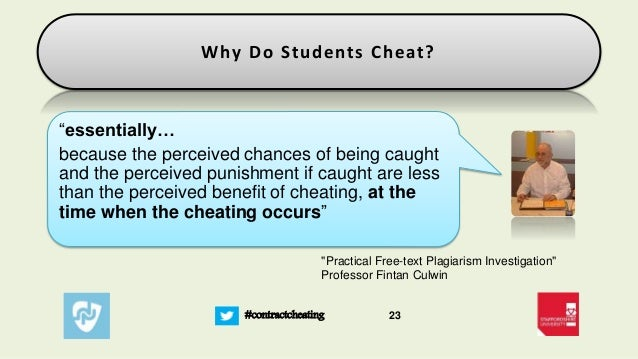 essay on why do students cheat in exams Politicians and businessmen get away with cheating, so why not start early  why do students cheat  a student takes an exam on january 4, .