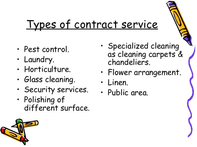 housekeeping contract sample