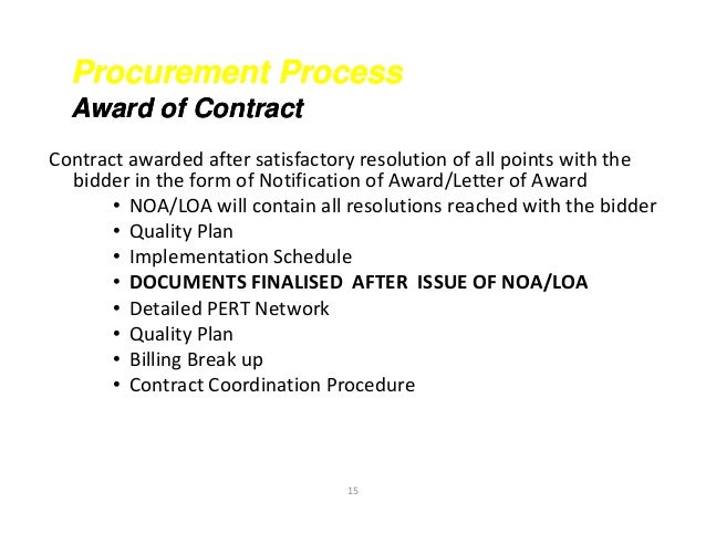 Contract closing ppt