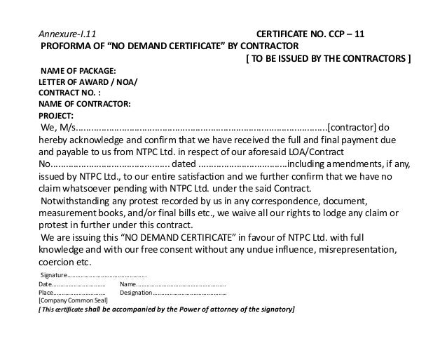 Sample format of certificate of no claim images certificate sample format of certificate of no claim images certificate sample format of certificate of no claim yadclub Gallery