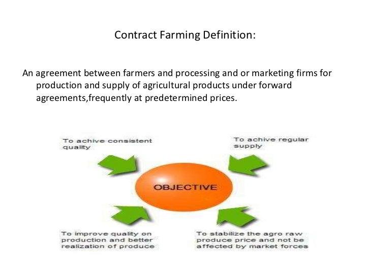 Contract farming 2 contract farming definitionbr platinumwayz