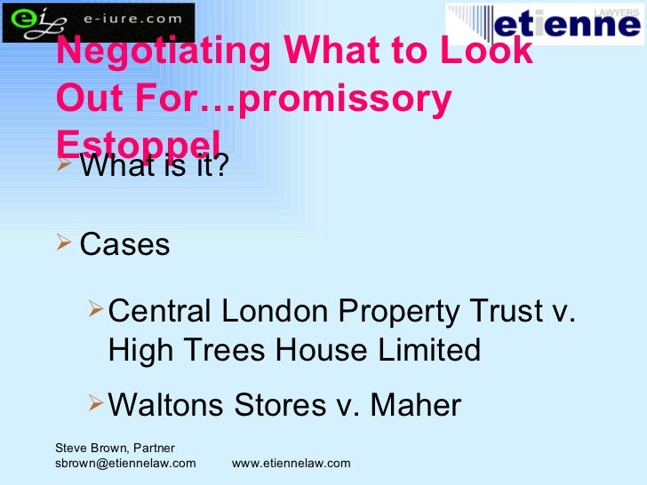 Central London Property Trust V High Trees House