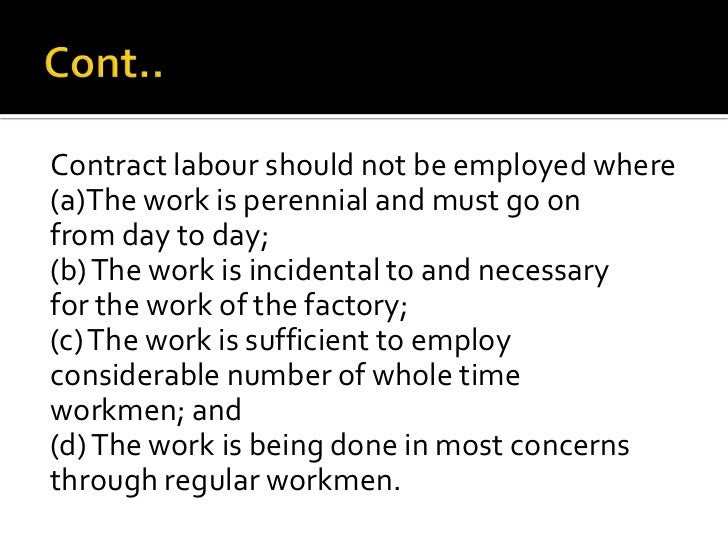 contract labour regulation and abolition act 1970 pdf