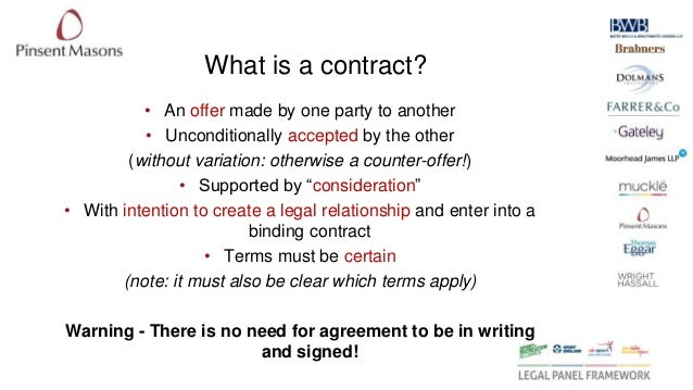 basic fundamentals of contract law Commercial contracts for non-lawyers  contract law commercial  contract fundamentals how contracts are created.