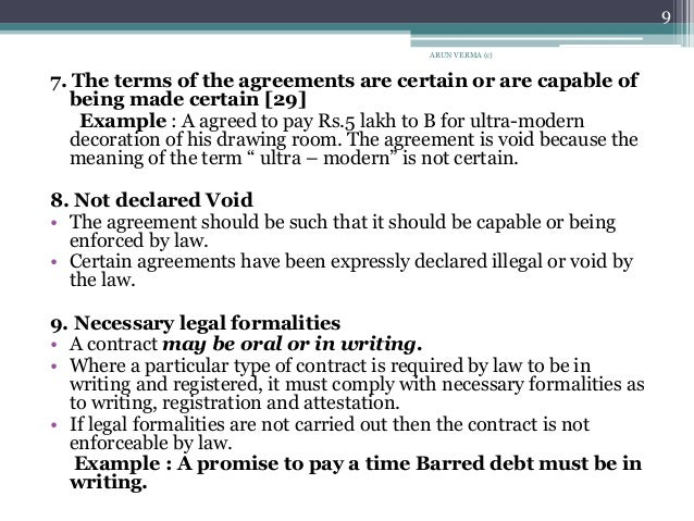Use 'contract law' in a Sentence