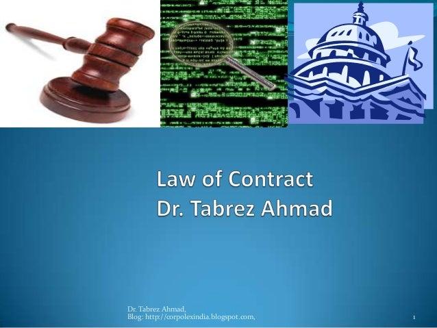 Dr. Tabrez Ahmad,Blog: http://corpolexindia.blogspot.com,   1