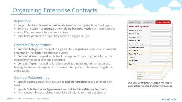 Contract Management With Sharepoint And Office