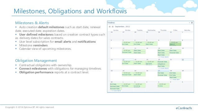 Contract Management With Sharepoint And Office365