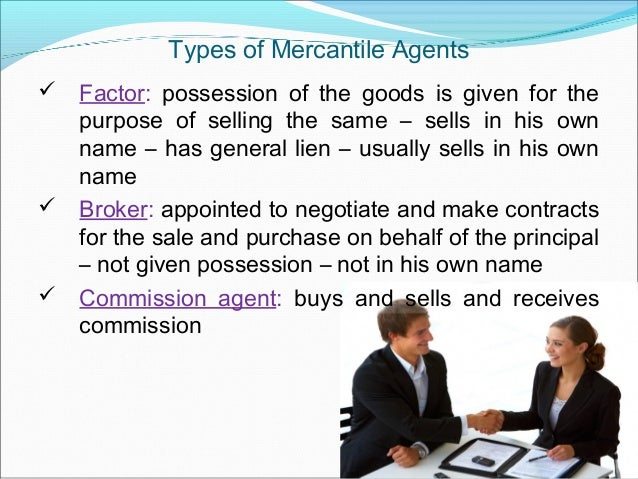 mercantile agent definition
