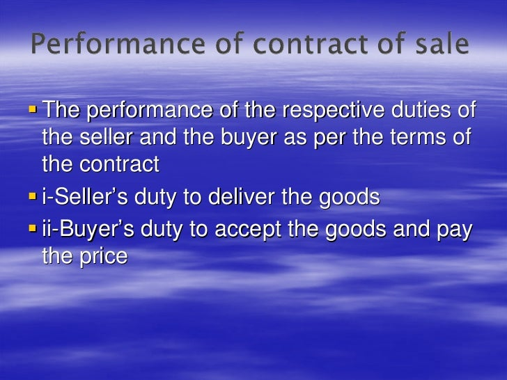 contract and goods In mixed goods-services situations, courts determine whether the contract is for the sale of goods by determining whether the good or the service is the dominant part of the transaction true false.