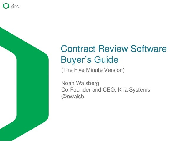 contract review software buyer s guide rh slideshare net mtb buyers guide reviews mtb buyers guide reviews