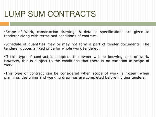 what is a tender in contract law
