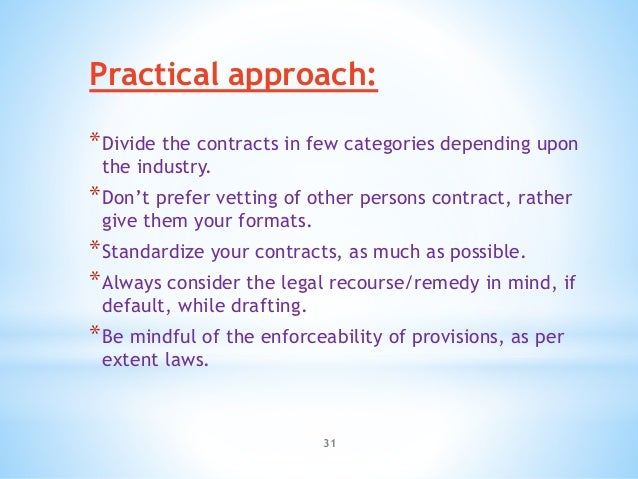 Contracts In India Key Legal And Practical Aspects