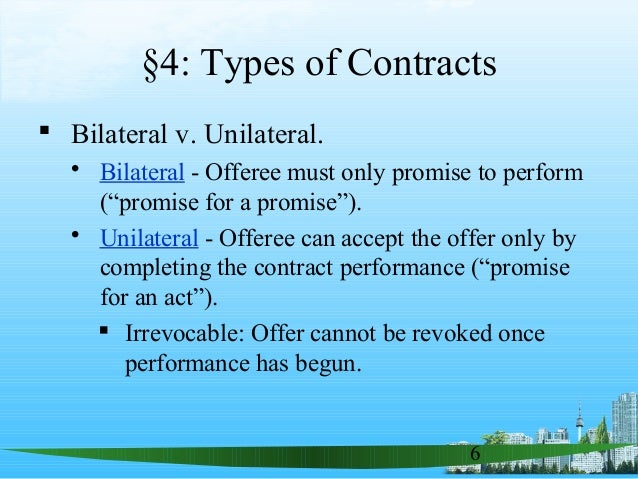 Contracts .ppt business law