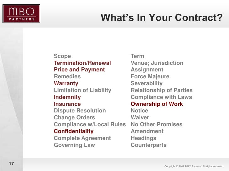 Contracts 101 negotiating consulting agreements in your favor 17 platinumwayz