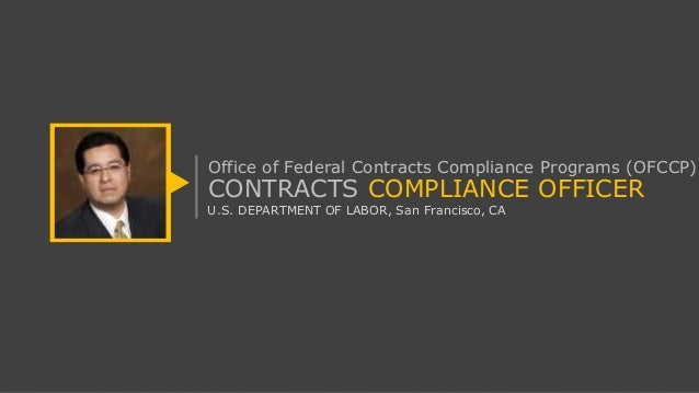 U s department of labor offcp contracts compliance officer roles a - Compliance officer interview ...