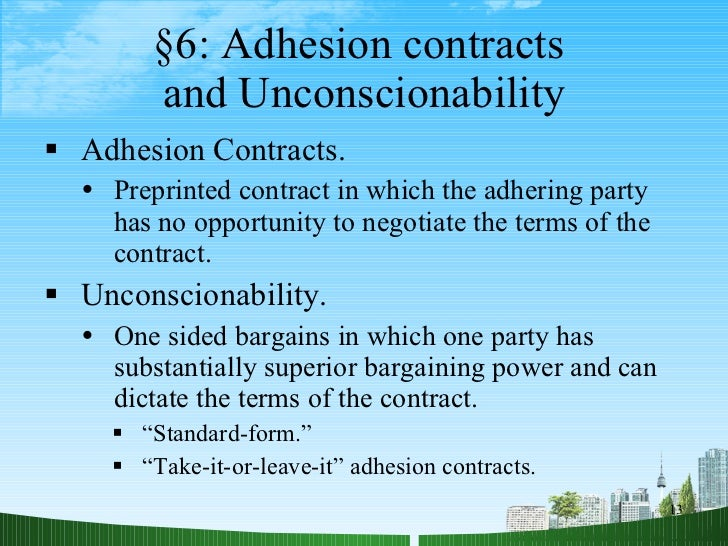 unconscionable bargains under the indian contract Corporate law dossier however barring few attempts, the indian contract act lacks teeth to prevent misuse of printed / standard form of contracts courts suo motu have evolved and.