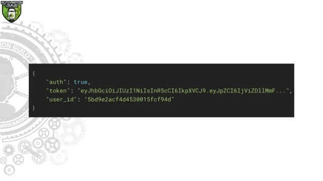 Consumer • Any component that initiates an HTTP request to a provider • Some Examples: • Web or mobile app frontend • Anot...