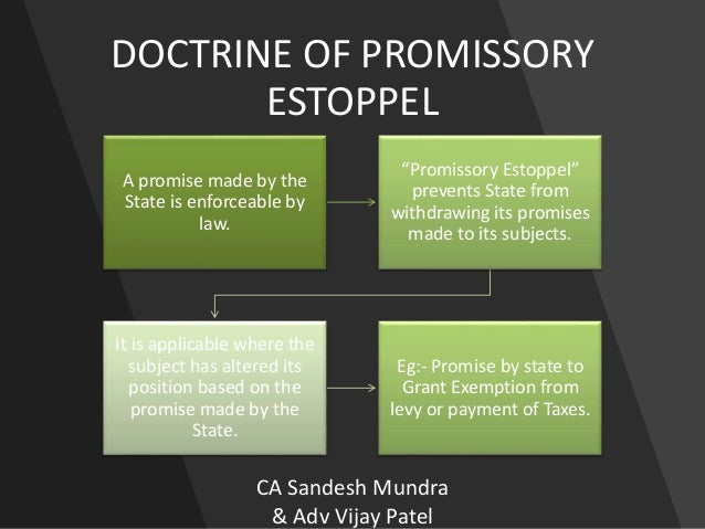 doctrine promissory estoppel essays Doctrine reddressing detrimental reliance, and that this concept is associated with   142 comparing proprietary with promissory estoppel   15 pd finn, ' equitable estoppel' in pd finn (ed), essays in equity (sydney law book co 1985 .