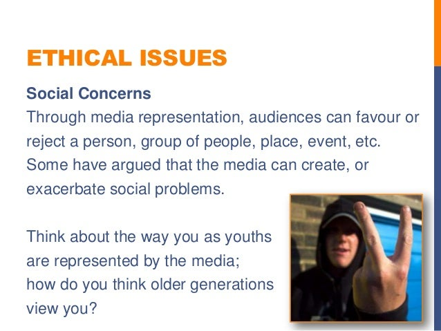 ethical issues in broadcasting Various lobby groups to address social issues on prime-time television  broadcast media with the need for more prosocial television is an ethical dilemma.