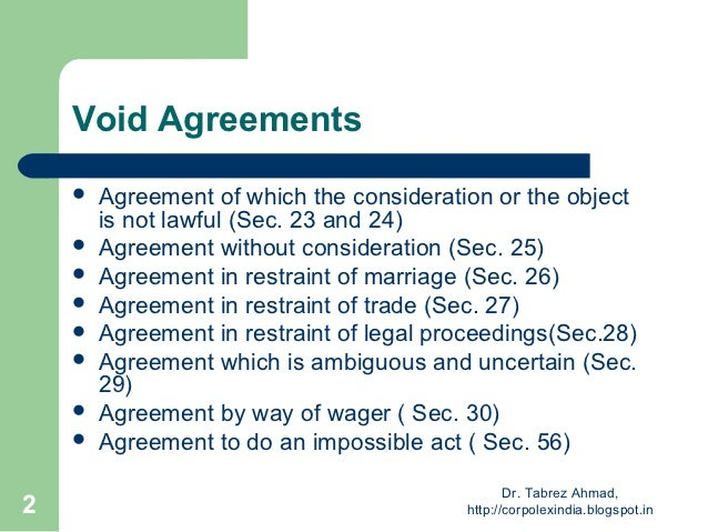 Agreement Without Consideration Consideration Every Contract Needs