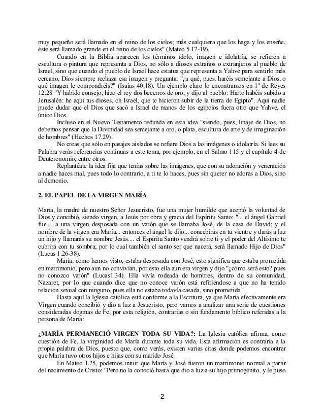 Contradiciones católicas con las escrituras Slide 2