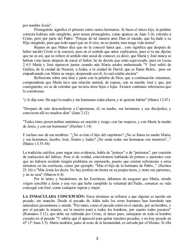 Contradiciones católicas con las escrituras Slide 3