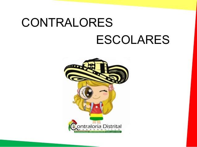 CONTRALORES ESCOLARES