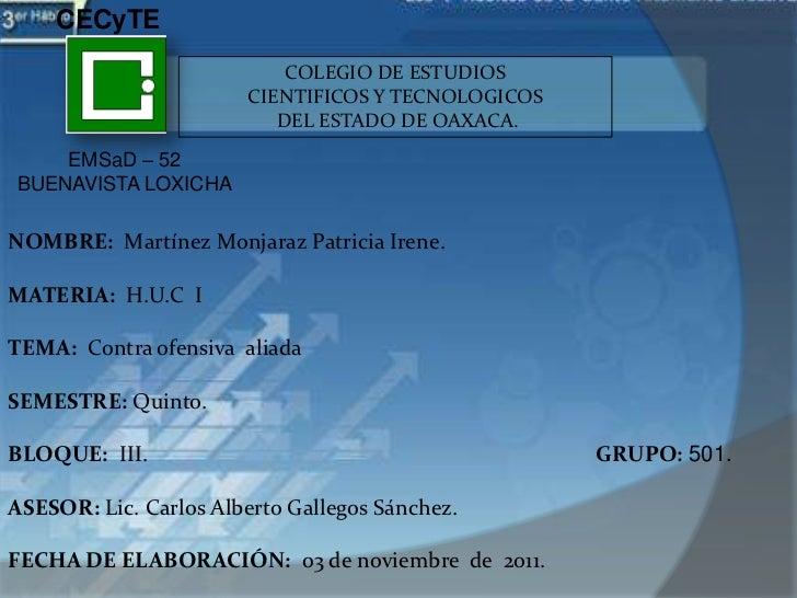 CECyTE                           COLEGIO DE ESTUDIOS                       CIENTIFICOS Y TECNOLOGICOS                     ...