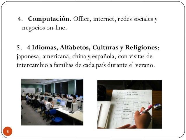 4.Computación. Office, internet, redes sociales y negocios on-line. 5.4 Idiomas, Alfabetos, Culturas y Religiones: j...
