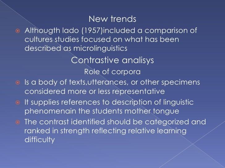 A contrastive study on human body