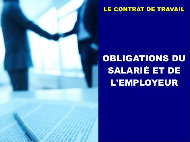 le contrat de travail 14 638.