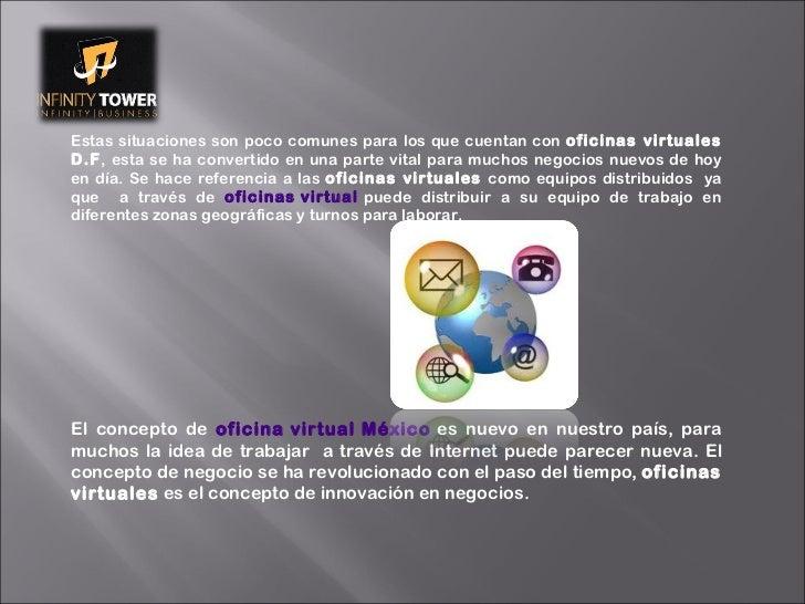 Contrataci n de oficinas virtuales d f for Oficinas virtuales df