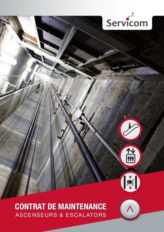 CONTRAT DE MAINTENANCE  ASCENSEURS & ESCALATORS