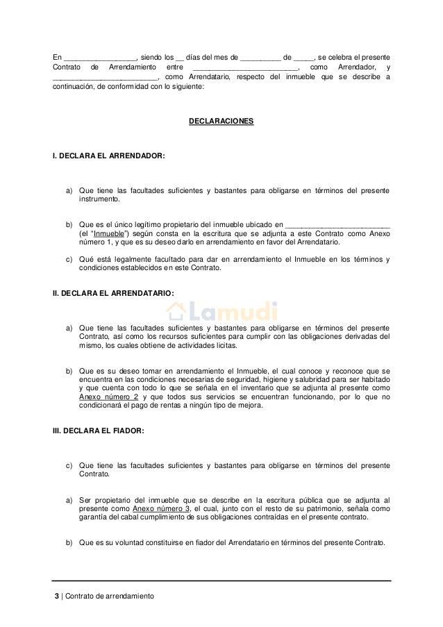Modelo de contrato de arrendamiento para imprimir gratis for Contrato de arrendamiento de oficina