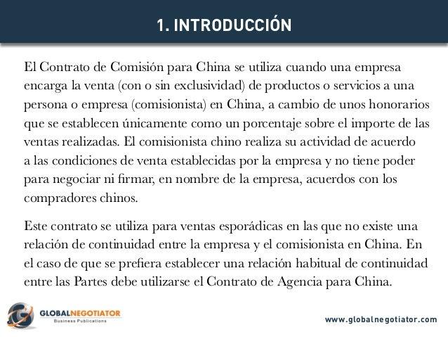 Contrato Comisión para China en Chino 委托合同 Slide 3
