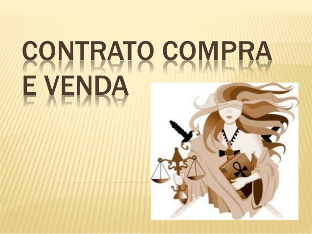 CONTRATO COMPRA E VENDA