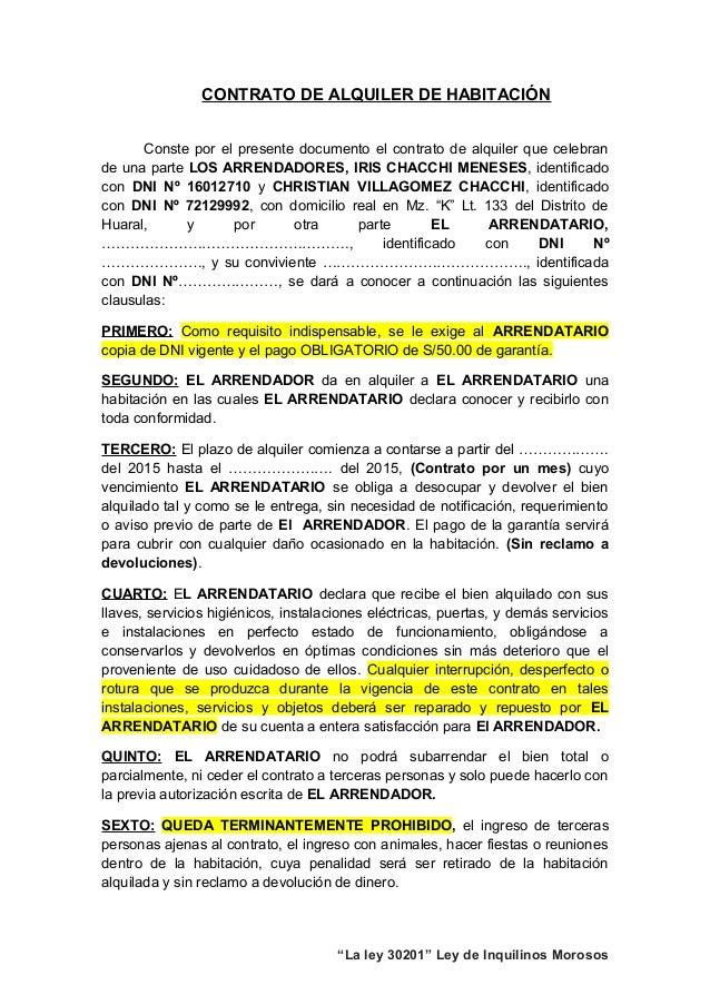 Contrato cuarto for Contrato documento