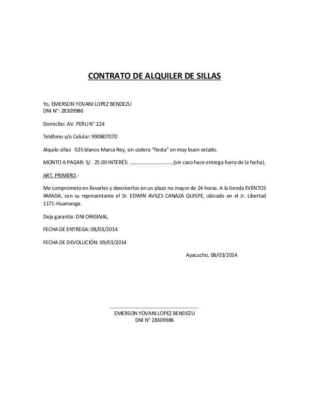 Contrato de alquiler peru tattoo design bild for Contrato de hipoteca