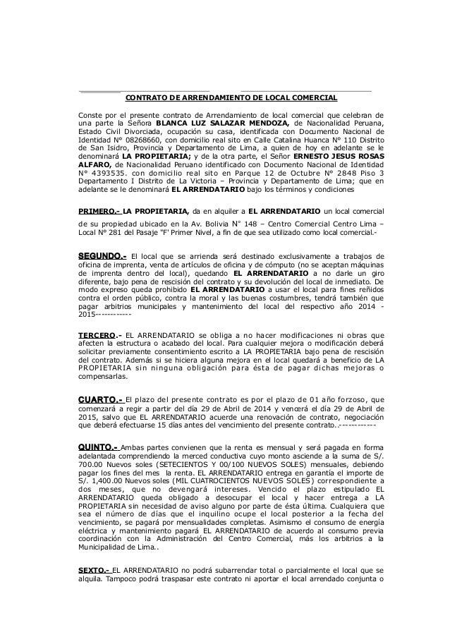 Contrato De Alquiler De Cuarto En California Image Mag : contrato de arrendamiento 1 638 from imagemag.ru size 638 x 903 jpeg 178kB