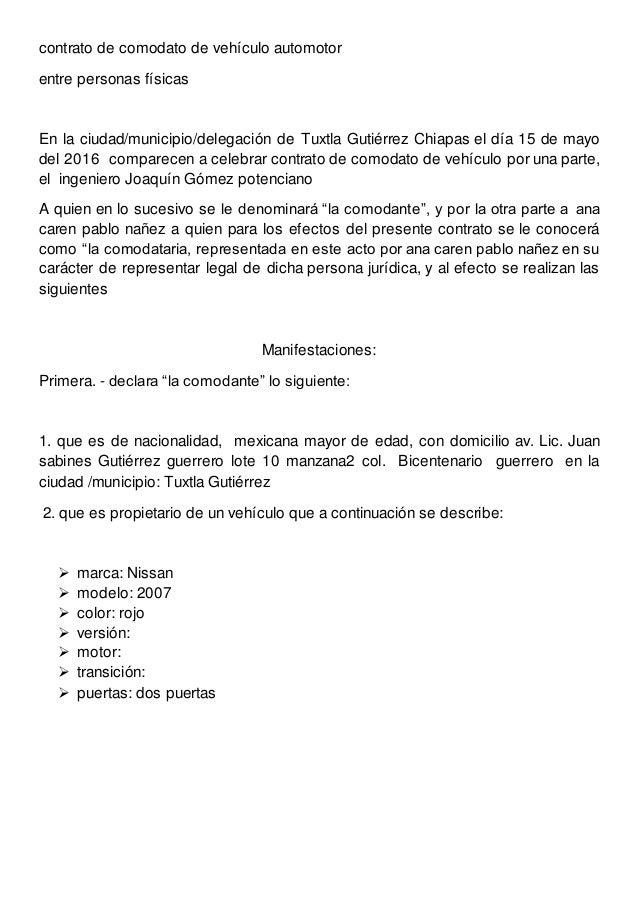 carta responsiva de auto pdf
