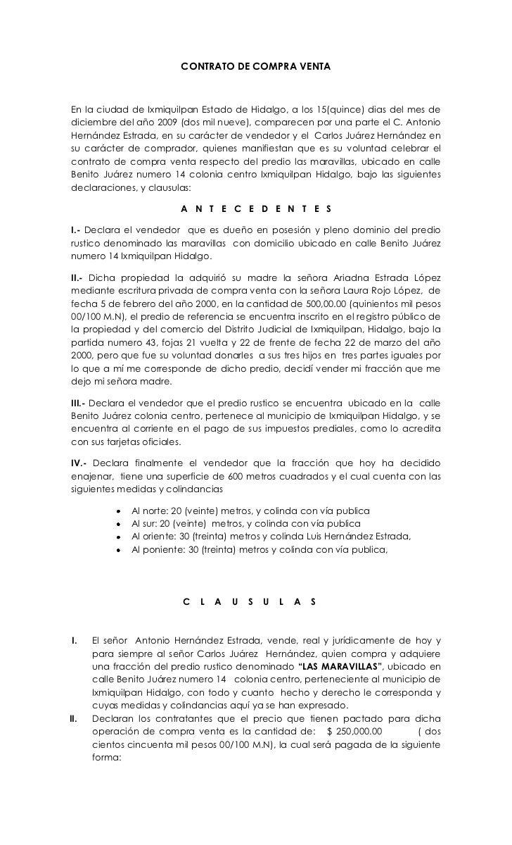 De Contratos Contratos De Compra E Venda Contrato De Compra E ...