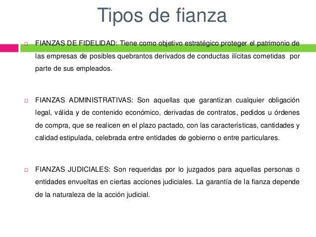 TIPOS DE FIANZAS EPUB