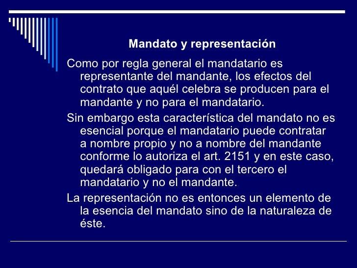 Contrato de Mandato Slide 2