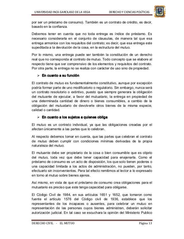El contrato de mutuo andr s cusi arredondo for Clausula suelo firma acuerdo privado