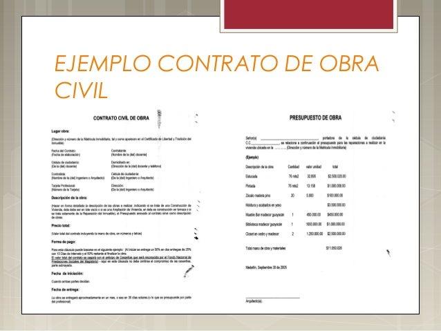 Contrato de obras civiles construccion - Modelos de barbacoas de obra ...
