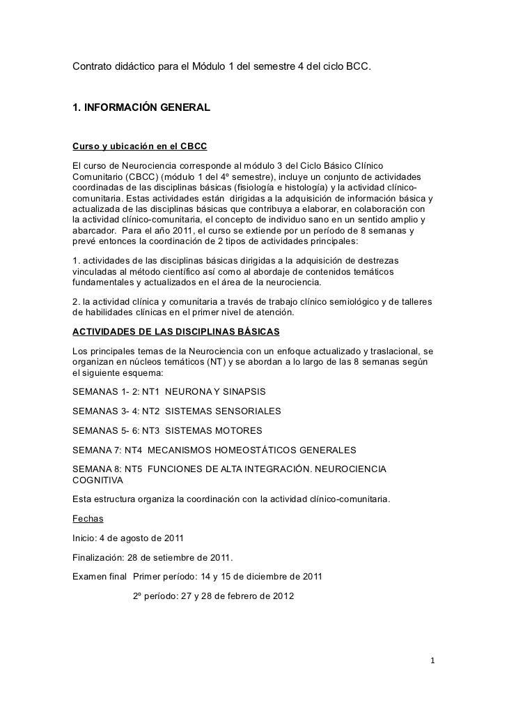 Contrato didáctico para el Módulo 1 del semestre 4 del ciclo BCC.1. INFORMACIÓN GENERALCurso y ubicación en el CBCCEl curs...