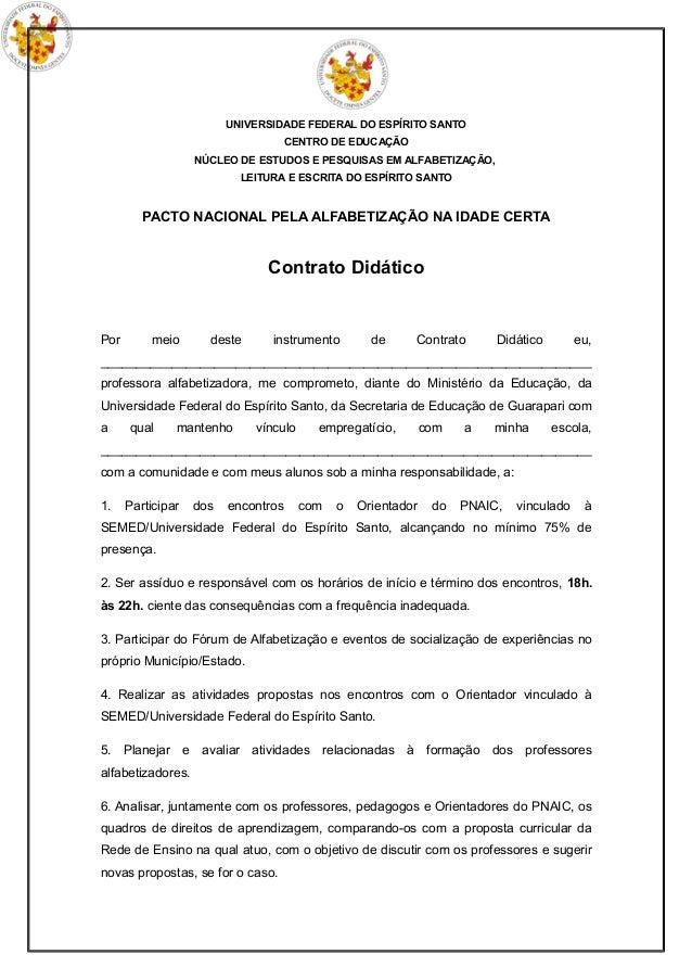 UNIVERSIDADE FEDERAL DO ESPÍRITO SANTO                                  CENTRO DE EDUCAÇÃO                   NÚCLEO DE EST...