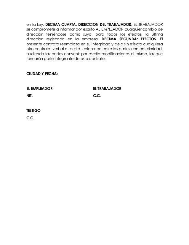Contrato Indefinido Y Afiliaciones