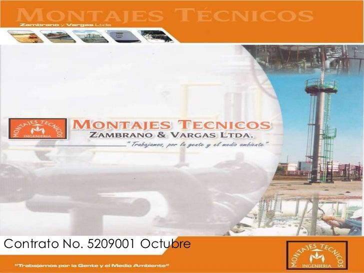 Contrato No. 5209001 Octubre